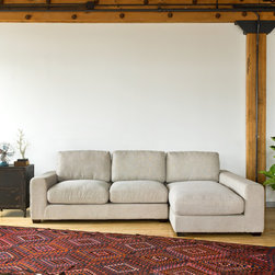 Kelley Fabric Sectional by Interior Define -