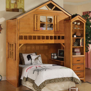 Kid's Furniture - Camp Fort Cody Loft Bed