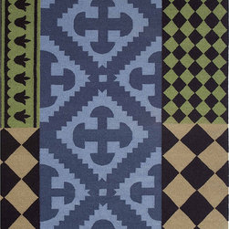 Gandia Blasco - Siracusa Wool Kilim Rug - Gandia Blasco - All of the modern rugs by Gandia Blasco are Goodweave certified and the perfect addition to any room in your home. Yarn composition: 100% new Wool. Designed by Sandra Figuerola.
