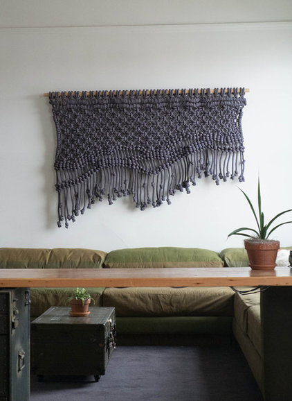 eclectic  Wall Hanging by Sally England, ACE Hotel in Portland, OR