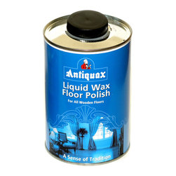 Antiquax - Antiquax Liquid Floor Wax 1 liter - Antiquax Liquid Was Floor Polish is a high quality wax suitable for all types of wooden and parquet floor.