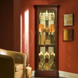 Pulaski Furniture - Corner Curio by Pulaski Furniture - Corner Curio by Pulaski Furniture Fill ...