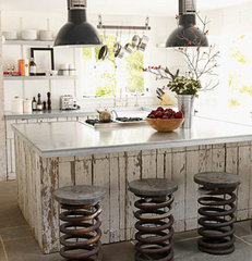 eclectic kitchen by The Lettered Cottage