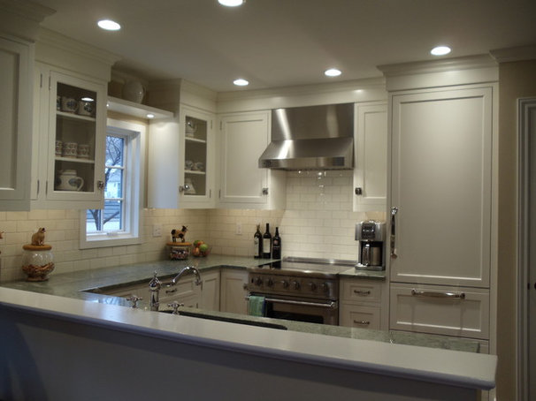 Traditional Kitchen Traditional White Kitchens