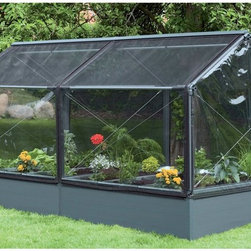 Systems Trading - Systems Trading 30 Series Grow Camp Greenhouse - HG-GC300 0408 - Shop for Greenhouses from Hayneedle.com! Grow vegetables in your own back yard and never worry about rodents snails or insects getting to them first with the Systems Trading 30 Series Grow Camp Greenhouse. Constructed of the highest quality plastics polyethylene and screens this greenhouse is easy to assemble and is designed for all season use. You won't even have to use pesticides with this greenhouse and you'll only need to water during particularly dry periods. The need for weeding should be minimal but everything will be easily accessible when the need does arise. This greenhouse has a 7-year warranty on the frame and a 3-year warranty on the panels.About Systems Trading Corporation.Systems Trading Corporation (STC) was incorporated in 1994 as a manufacturer and distributor of high-quality innovative easy-to-use products at affordable prices. The company is privately held with a skilled professional staff. Among the products offered you will find the most innovative line of TV and flat-screen wall and ceiling mounts the USA's best-selling backyard hobby greenhouses the world's best-selling robotic lawn mower and mini coolers and mood light products.