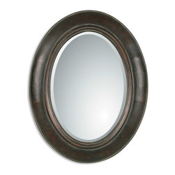 Uttermost - Uttermost 07011 B Tivona Oval Copper Mirror - Uttermost 07011 B Tivona Oval Copper Mirror
