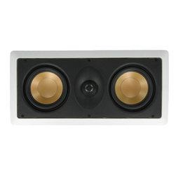 "InwallTech - InwallTech M525.1LCR 5 1/4""Dual Aluminum LCR Theater Speaker - - LIFETIME WARRANTY"