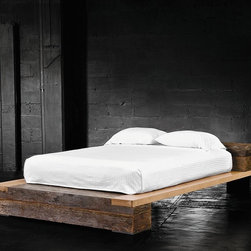 Beam King Size Platform Bed -