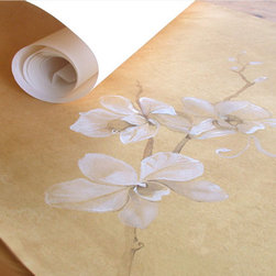 Custom Wall Coverings - Hand painted wall paper