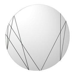 IKEA of Sweden - VÄNNA Mirror - Mirror, rubber black
