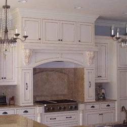 Custom Design and Cabinets - Simply gorgeous; it's in the details! Custom inset cabinets, custom design, custom craftsmanship, custom finish (paint and glaze).