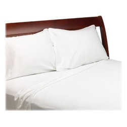 SCALA - 1000 Thread Count Egyptian Cotton Solid White Sheet Set, King - We offer supreme quality Egyptian Cotton bed linens with exclusive Italian Finishing. These soft, smooth and silky high quality and durable bed linens come to you at a very low price as these come directly from the manufacturer. We offer Italian finish on Egyptian cotton, which makes this product truly exclusive, and owner's pride. It's an experience and without it you are truly missing the luxury and comfort!!