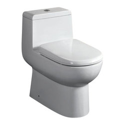 EAGO - EAGO TB351 One Piece Dual Flush Ultra Low Flush Eco Friendly White Toilet - We are very excited to offer you this top of the line brand of eco-friendly low consumption modern smart toilets. Join the latest fashion trend with EAGO's innovative line of green products.