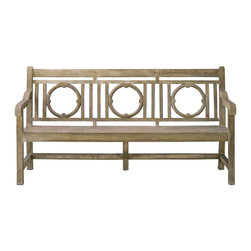 Currey and Company - Currey and Company Leagrave Traditional Bench - Currey and Company Leagrave Traditional Bench X-2272