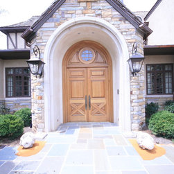 Custom Front Door - This is a custom entry door built and install by NeedCo