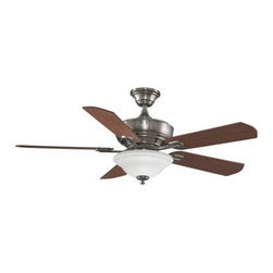 "Fanimation - Fanimation Camhaven 52"" 5 Blade Ceiling Fan - Blades, Light Kit, & Remote Cont - Included Components:"