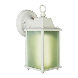 Trans Globe Lighting - 1 Light Frosted Coach Lantern - 1 Light Frosted Coach Lantern