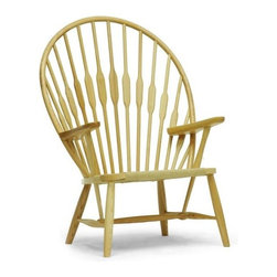 Baxton Studio - Windsor Accent Chair - Traditional style. Tightly-woven paper cord seat. Wooden dowel backrest. Windsor chair-inspired throwback design. Tall backrest formed by long wooden dowels. Wipe with dry cloth. Made from solid ash wood. Natural finish. No assembly required. Arm height: 23.37 in.. Seat: 19.5 in. W x 18.87 in. D x 14.62 in. H. Overall: 31.25 in. W x 26.25 in. D x 42.87 in. H (30 lbs.)