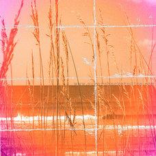 Artwork Pink & Orange Beach Print ~ Gallery Quality