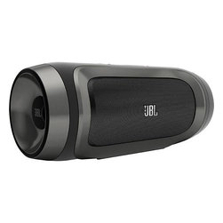 JBL Charge Portable Indoor-Outdoor Bluetooth Speaker, Black - Connect your radios to this portable speaker, and everyone in your group will be able to hear the pre- and post-game shows.