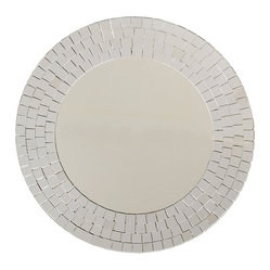 Ashton Sutton Wall Mirror, Mirrored Mosaics