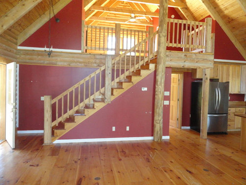 Interior Paint Colors For Log Homes : Log Cabin Interior Paint Color ...
