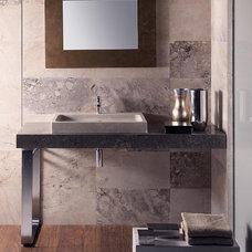 Modern Bathroom Sinks by The Vero Stone