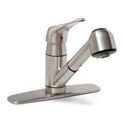 "PREMIER - Wellington Ceramic Disc Bar Faucet Brushed Nickel 119282 - Dependable Ceramic Disc Technology|Square Canopy 10"" Spout|Teapot Style Metal Handles|Brushed Nickel - Manufacturer: Premier Faucet - HVAC - FORCED AIR SYSTEMS - FAS REPAIR PARTS - CAPACITORS."