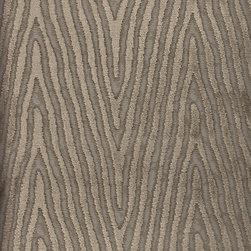 Pierre Frey - Pierre Frey Alep Stripe Velvet in Taupe - 7.625 Yards - Yardage: 7.625 yards