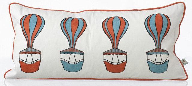 Contemporary Pillows by Polkadot Peacock