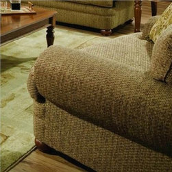 Simmons Upholstery - Fairfield Chair and a Half in Bixby Peat - 7552C-2 - Chair and a half