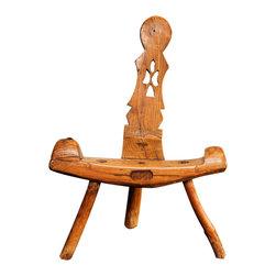 Scandinavian Primitive Child's Chair - The HighBoy, Caroline Faison Antiques