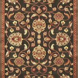 Loloi - Loloi Halton Brown-Rust Area Rug - The colors are vivid and the transitional designs are appealing but what really stands out in Halton is the details.