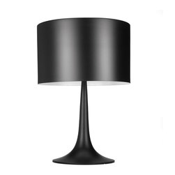 In the Black Table Lamp - Take a note from an era long gone when the color black was all about class and style. This table lamp will jazz up your home with all the right notes.
