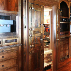 San Miguel Build - The Kitchen - Custom refrigerator ...