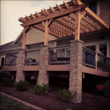 Traditional Patio by Anthony Company Builders LLC