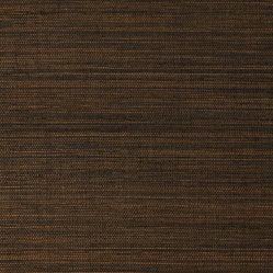 Duo Sisal Coffee Grass Cloth Wallpaper