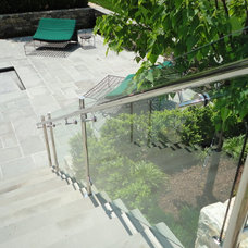 Contemporary Home Fencing And Gates by ATM Mirror and Glass