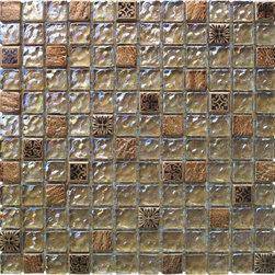 Maximo Glass Tile Wisdow Blend -