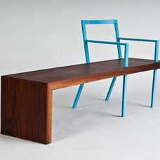 Modern Benches by Skylar Morgan Furniture + Design