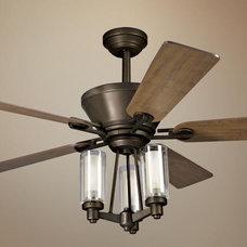 "52"" Kichler Circolo Collection Olde Bronze Ceiling Fan | LampsPlus.com"
