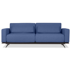 Modern Sleeper Sofas Copperfield Blue Sleeper Sofa