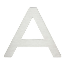 Atlas Homewares - Atlas Homewares Paragon Stainless Steel 4 in. House Letter - 516952 - Shop for Address Numbers Letters and Plaques from Hayneedle.com! The clean lines of modern design are evident in the Atlas Homewares Paragon 4 in. House Letters. These brushed stainless steel letters feature bold modern lines a weatherproof lacquer finish and double-sided industrial adhesive for application. Order each letter individually.About Atlas HomewaresBased in Los Angeles this small American company makes the small things that complete your home the old-fashioned way. With house numbers drawer pulls doorknobs and much more made from metal in well-studied traditional and contemporary styles they have what you need to complete your home. If you like the idea of buying your details from a company that cares about them look no further than Atlas Homewares.