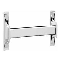 Alno Inc. - Alno Creations Geometric 18 Inch Towel Bar Satin Nickel A7920-18-Sn - Alno Creations Geometric 18 Inch Towel Bar Satin Nickel A7920-18-Sn