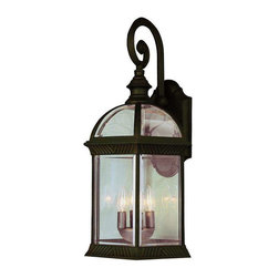 Trans Globe Lighting - Trans Globe Lighting 44181 RT Outdoor Wall Light In Rust - Part Number: 44181 RT