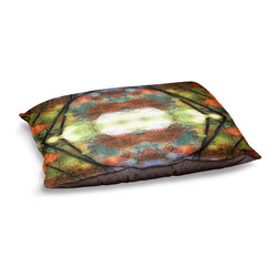 DiaNoche Designs - Dog Pet Bed Fleece - Autumn View - The comfort of your pet is of the utmost importance. But shouldn't their furniture match yours? DiaNoche Designs gives your pet some clout with our stable of international artists designs on their new bed.