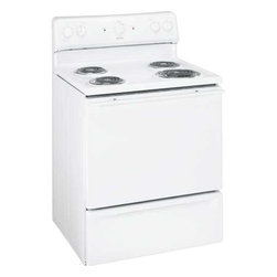 "GE - Hotpoint 30"" Electric Range - Features:"