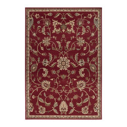 Surya - Surya RLY5024-1013 Riley Rug - Both a bold zig-zag pattern and traditional organic pattern define the rugs in the Riley collection from Surya. While the zig zag pattern is a modern take on the traditional southwest style, the floral pattern of classic style is given a fresh perspective, combining it with geometric sections of different background colors. The Neural browns, tans and grays are delightfully balanced with a pop of cinnamon spice for added interest.  Each rug is machine made in Turkey from 1% polypropylene.