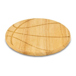 Picnic Time - Picnic Time Free Throw Cutting Board - Natural Wood Multicolor - 840-00-505-000- - Shop for Cutting Boards from Hayneedle.com! If you thought there was no possible correlation between serving cheese and basketball you may think again once you see the Picnic Time Free Throw Cutting Board - Natural Wood. The natural food-safe finish is accented by a simple basketball pattern on a body of environmentally conscious rubberwood. About Picnic TimeEven the name makes you smile! Since 1982 Picnic Time's mission has been to sell traditional European-style picnic baskets in America that everyone could afford. The company has continued to develop innovative and practical outdoor leisure products that inspire relaxation with friends and family. With a product line that continues to develop far beyond the traditional picnic basket (though theirs are the finest picnic baskets around!) Picnic Time will take you to the beach the country the mountains ... or best of all your own backyard.