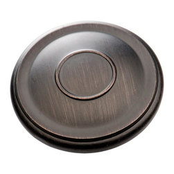 "Southern Hills - Southern Hills Oil Rubbed Bronze Cabinet Knob,  1.75 inch, Pack of 10 - ""To all the kitchen cabinets you've loved before, the painted ones that matched the door. You're glad they came along and you dedicate this song, to all the kitchen cabinets you've loved before. Sure, the winds of change are always blowing but we're confident that these oh-so-beautiful oil rubbed bronze cabinet knobs from Southern Hills have what it takes to make any home renovator (or country singer) settle down.  Pack of 10, with mounting screws."